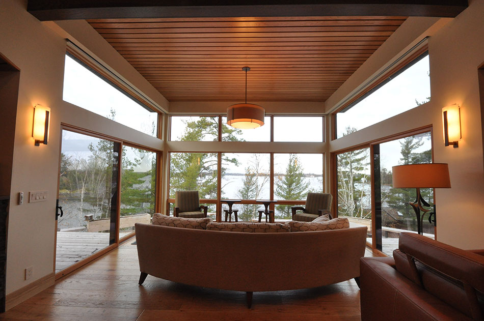 sunroom lake view