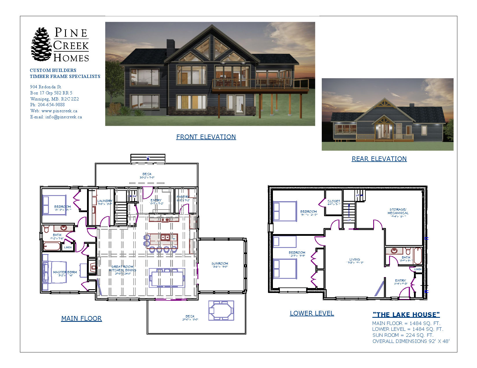 Custom house floor plans 18 images portola for Home planners inc house plans