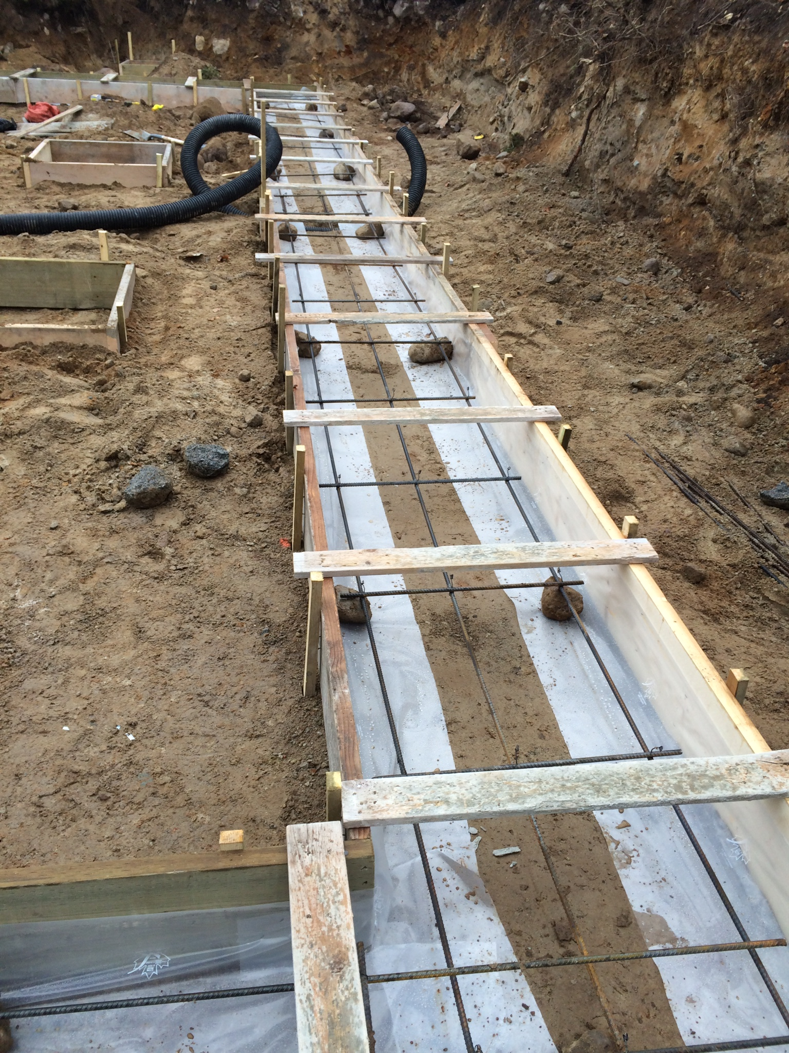 Shell option series starting with a great foundation for What temperature to pour concrete outside
